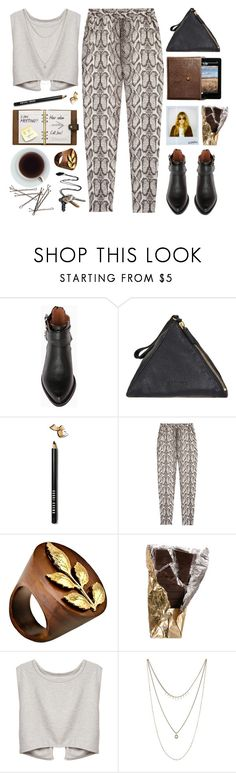 casual. by yexyka on Polyvore featuring mode, Helene Berman, DailyLook, Jil Sander, K. Amato, Stolen Girlfriends Club, Lucky Brand, Bobbi Brown Cosmetics and Polaroid