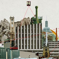 Collage City Mix 2 on Behance