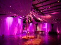 DJ Bill Page provides spectacular lighting for your Big Event #uplighting