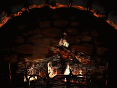 fire winter cold december warm