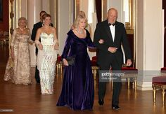Camilla, Duchess of Cornwall and King Harald of Norway attend an official dinner at the Norwegian Royal Palace on March 20, 2012 in Oslo, Norway. Prince Charles, Prince of Wales and Camilla, Duchess of Cornwall are on a Diamond Jubilee tour of Scandinavia that takes in Norway, Sweden and Denmark.