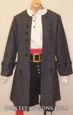 The be the Jack Pirate Coat. Well made coat to be very similar to the Frock…