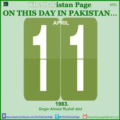 #PakistanPage #History #April