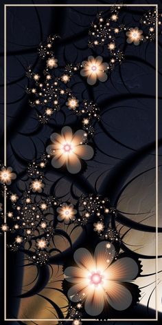 Midnight Dreams by CoffeeToffeeSquirrel on DeviantArt Wallpaper Nature Flowers, Flowery Wallpaper, Flower Background Wallpaper, Beautiful Flowers Wallpapers, Flower Phone Wallpaper, Beautiful Nature Wallpaper, Glitter Wallpaper, Butterfly Wallpaper, Scenery Wallpaper