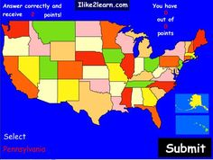 Map Of States And Capitals For Kids Printable Map Of Usa With States And Capitals For Kids 2 Jpg Mike Pinterest