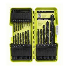 Ryobi A10D21D Black Oxide Drill Bit Set (21-Piece)