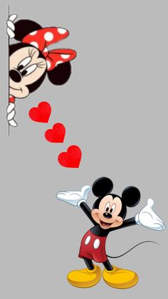 Mickey Mouse Wallpaper Iphone, Cute Disney Wallpaper, Cute Cartoon Wallpapers, Wallpaper Iphone Cute, Minnie Mouse Drawing, Mickey Mouse Art, Mickey Mouse And Friends, Disney Mickey, Minnie Mouse Cartoons