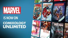 Marvel Joins Comixology Unlimited Subscription Service  Marvel Comics has joined the list of publishers participating in the Comixology Unlimited digital subscription service. Starting today a number of Marvel's graphic novels and single issues will be made available to Comixology Unlimited subscribers.  As revealed by io9 these Marvel books include a mix of classic titles like Runaways and Civil War currently ongoing series like All-New Wolverine and Elektra and even a handful of Star Wars…