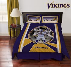 Minnesota Vikings Collage Comforter