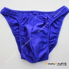 Мужские плавки для бодибилдинга от магазина-ателье ANNANAS  Размеры: S, M, L, XL, XXL Цвет - Сапфир.