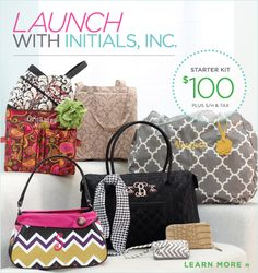 Initials Inc.  Welcome to Initials, INC.  Looking for a gift, home or office organization or a great way to make an extra income?  Click on this page or go to www.myinitials-inc.com/Demetria  You'll love it!