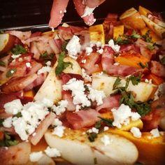 Montag, 3. August Gestapeltes Glück #kürbis #lilasfood #tasty #eatwithlove #enjoy #oberwart