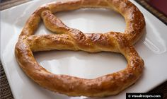 """Soft Pretzel Recipes...have them at the wedding w/note saying """"we tied the knot!"""""""