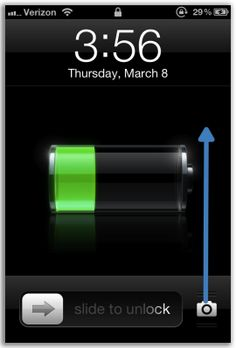 Access the iPhone camera from the lock screen even quicker on iOS 5.1