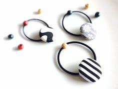 結び目かくしてスッキリきれいに!くるみボタンにヘアゴムを付ける3つの方法 - DIY・レシピ | tetote-note(テトテノート)