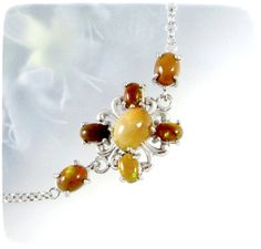 Victorian Chocolate Ethiopian Opal .925 Sterling Silver Bracelet- http://www.thechocolateopal.com/store/c4/Ethiopian_Opal_Bracelets.html