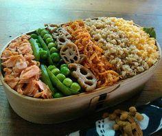 """こんなおとう飯が食べたい!わたをさんの豪快でうまそうなお弁当""""わた弁""""に注目   おうちごはん Work Lunch Box, Vegan Lunch Box, Bento Box Lunch, Lunches, Pasta Salad, Basket, Cooking, Ethnic Recipes, Instagram"""