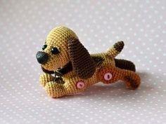 Вяжем крючком собачку Бусинку - Ярмарка Мастеров - ручная работа, handmade