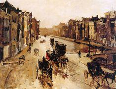 Breitner George Rokin Sun, George Hendrik Breitner. Dutch (1857 - 1923)