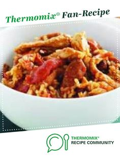 Recipe Chicken and Chorizo Risotto by learn to make this recipe easily in your kitchen machine and discover other Thermomix recipes in Pasta & rice dishes. Chorizo Recipes, Risotto Recipes, Rice Dishes, Food Dishes, Chicken And Chorizo Risotto, Recipe Community, Food N, Main Meals, Chicken Recipes