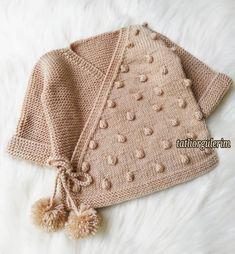 51 Great Crochet Needlework- Look Now 51 Great Crochet He Baby Booties Knitting Pattern, Baby Knitting Patterns, Area 57, Bead Crochet, Crochet Baby, Baby Kimono, Knitting For Kids, Crochet Fashion, Baby Wearing