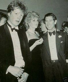 Princess Diana with Prince Charles and her brother Charles Spencer, on his Birthday, in London,England. Charles Spencer, Charles And Diana, Prince Charles, King Charles, Spencer Family, Lady Diana Spencer, Prince And Princess, Princess Of Wales, British Royal Families