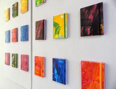 Art notebooks Exhibition. Kinmcuadernos notebooks on art exhibition until 31 may