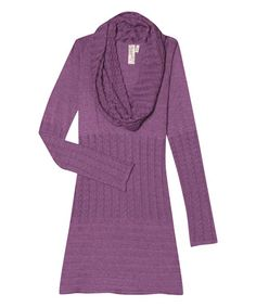 Another great find on #zulily! Berry Conserve Angela Organic Tunic & Scarf by Aventura #zulilyfinds