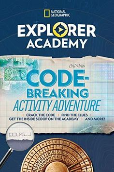 Explorer Academy Codebreaking Activity Adventure Amazing Science Experiments, Science Kits, National Geographic Photography, National Geographic Kids, Free Kindle Books, Free Ebooks, New Explorer, Kids Inspire, Gifted Education