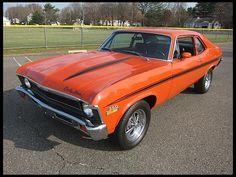 Lot F118 1972 Chevrolet Nova  FRI 2:00PM // #3=$14k, #2=$18k