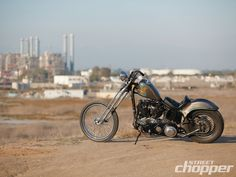 1947 Harley Davidson Knucklehead Rigid
