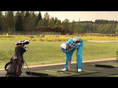 Golf-harjoittelu: Pro Riku Aarnion vinkit rangelle osa 5 - YouTube