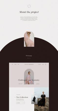 Ui projects | Behance의 사진, 비디오, 로고, 일러스트레이션 및 브랜딩 Website Design Inspiration, Website Design Layout, Web Layout, Graphic Design Inspiration, Layout Design, Typography Design, Branding Design, Mise En Page Web, Modern Web Design