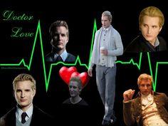 Dr. Cullen Equals Dr. Love by BloodRedVampress.deviantart.com on @deviantART