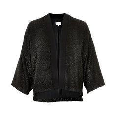 InWear Cho Bolero Short Black Jacket now available at atticwomenswear.com