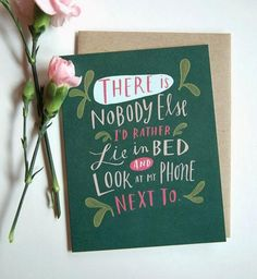 This is so true.  The perfect description of LOVE. | 22 Funny Valentine's Day Cards You'd be Lucky to Get