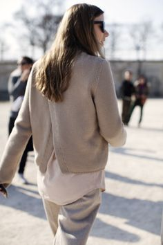TheSartorialist.  Where can I find a back-split sweater?
