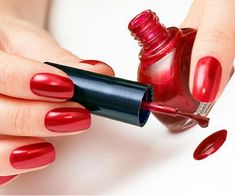 Sexy Red Nail Designs: Red Nail Polish Ideas ~ Nail Colors Inspiration