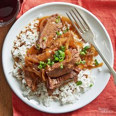 Make tender and moist Mongolian beef with zero work! This Asian-inspired meal uses your slow cooker for a tasty dinner recipe complete with rice, beef flank steak and a homemade ginger soy dressing to top it all of.