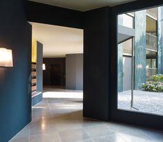 Hottingen | EDELAAR MOSAYEBI INDERBITZIN Entrance, Mirror, Corridor, Furniture, Texture, Detail, Home Decor, Homes, Projects