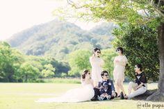 友達やご家族みんなでほっこり前撮り |*elle pupa blog*