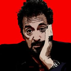 46-POP Art. Al Pacino.