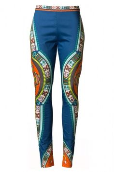 """Runway+inspired!+These+printed+Pants+are+inspired+by+the+Etro+Spring+2014+collection!+These+are+a+must+have+for+the+fashion+forward+Chica!+    Our+""""Etro""""+Pant+features+a+vibrant+tribal+print+with+a+coral+panel+down+the+leg.+Side+Zipper.++Fitted+Stretch+cut.+Perfect+w/+our+Juliette+Top!+    Cotton..."""