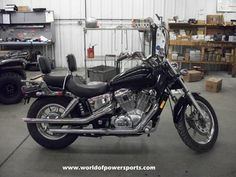 1999 HONDA SHADOW SPIRIT 1100, BACKREST,AFTERMARKET EXHAUST,LUGGAGE RACK! #USED #FORSALE