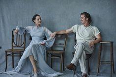 Peter Lindbergh | Brad Pitt, Angelina Jolie, Vanity Fair -  By The Sea