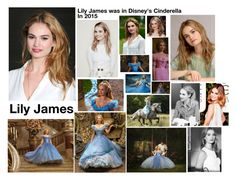 """""""Lily James💗"""" by hannahmcpherson12 ❤ liked on Polyvore featuring art"""