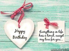 Birthday Wish For A Boyfriend Or Girlfriend Saying Happy Birthday