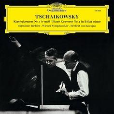 TCHAIKOVSKY Piano Concerto / S. Richter, Karajan - 1 LP - Deutsche Grammophon