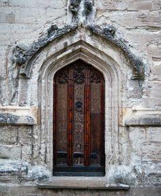Ancient Door Photograph Douglas Barnett When One Closes Gate