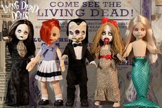 Living Dead Dolls Série 30: Freakshow, o Shows de Aberrações